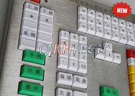 Custom Panel 80 Resin Keys Industrial Metal Keyboard For Highway Toll Station