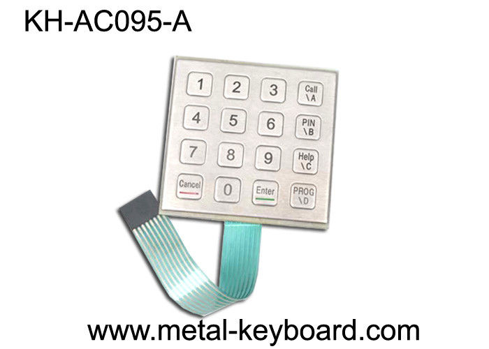 Weather - proof Stainless Steel Keyboard for Door Access System
