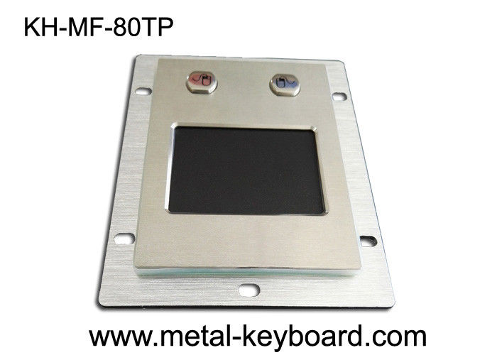 2 Buttons Panel Mount Trackball Metal Touchpad Self Service Ternimals For Kiosks