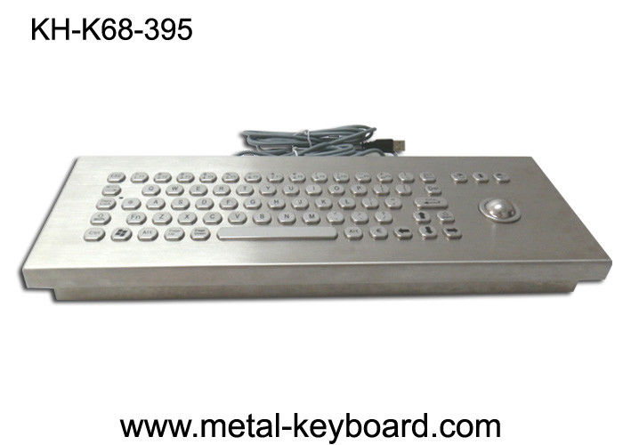 Vandal proof industrial Ruggedized keyboard with Stainless Steel Material