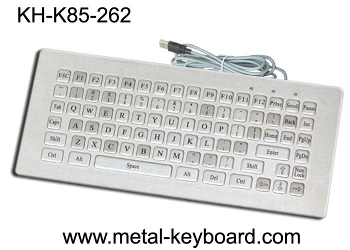 Mini Size Water Resistant Industrial Computer Keyboard Rugged 85 Keys Customized Layout