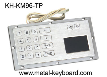 চীন Industrial Panel Mount Touchpad Keyboard with USB Interface , Custom Mechanical Keyboard কারখানা