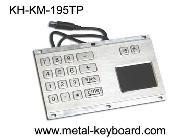 IP65 Rate Kiosk Numeric Panel Mount Keyboard  , Rugged Keyboard Metal