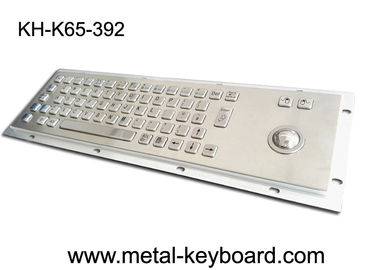 চীন Anti - corrosive Access Kiosk trackball keyboard , metal keyboard with trackball 38MM কারখানা