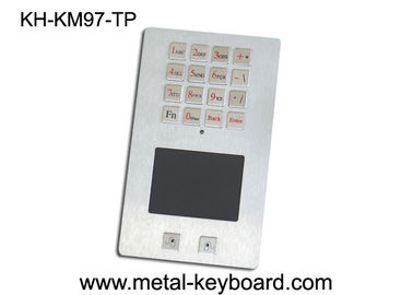 High reliability Kiosk Digital Panel Mount Keyboard Stainless Steel water resistant